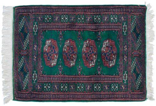 2×3 Bokhara Green Oriental Rug 022108