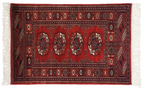2×3 Bokhara Red Oriental Rug 021846