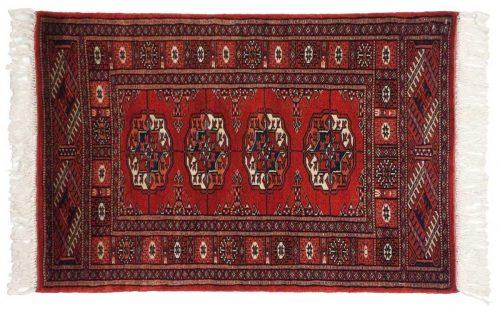 2×3 Bokhara Red Oriental Rug 021846