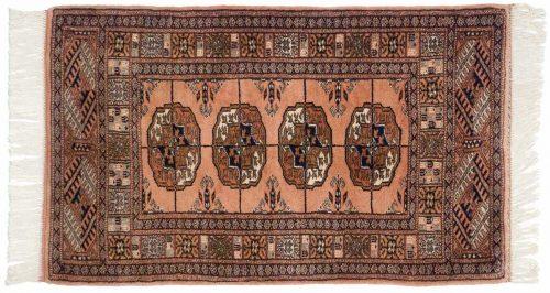 2×3 Bokhara Rose Oriental Rug 021820