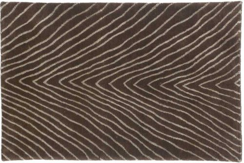 2×3 Herringbone Brown Oriental Rug 045155