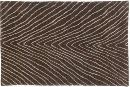 2×3 Herringbone Brown Oriental Rug 045155