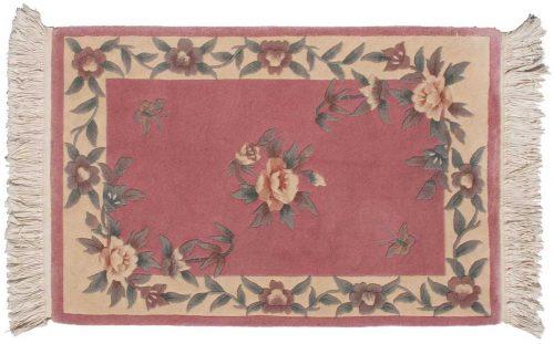 2×3 Kashan Rose Oriental Rug 029147