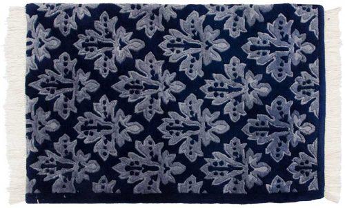 2×3 Modern Blue Oriental Rug 036693