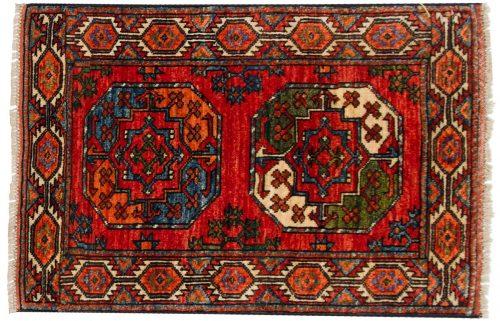 2×3 Ersari Rust Oriental Rug 048890