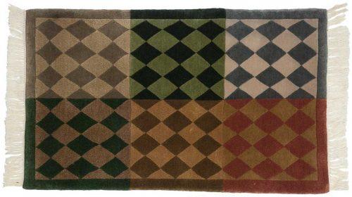 2×3 Modern Multi Color Oriental Rug 036782