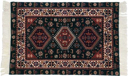 2×3 Shiraz Green Oriental Rug 024522