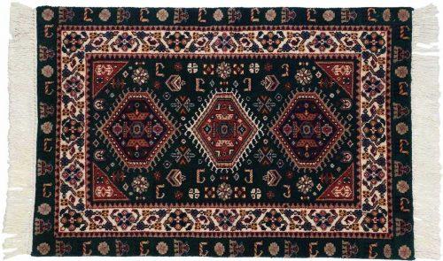 2×3 Shiraz Green Oriental Rug 024522