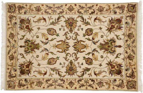 2×3 Kashan Ivory Oriental Rug 043718