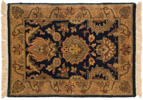 2×3 Jaipur Black Oriental Rug 043840