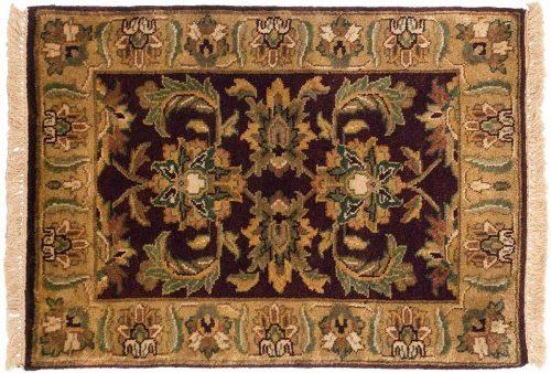 2×3 Jaipur Burgundy Oriental Rug 043839