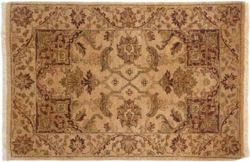 2×3 Jaipur Gold Oriental Rug 043842