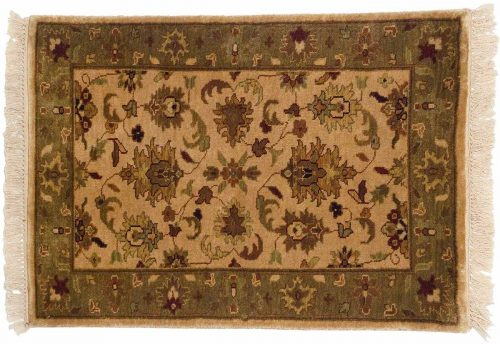 2×3 Jaipur Gold Oriental Rug 043844