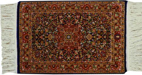 2×3 Kashan Blue Oriental Rug 034274