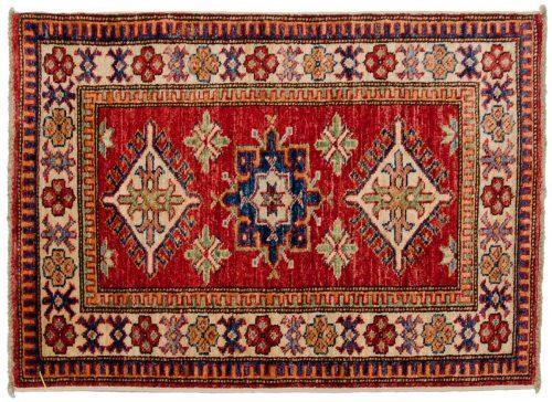 2×3 Kazak Red Oriental Rug 046458