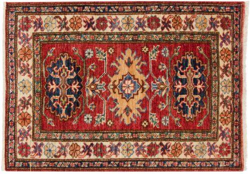 2×3 Kazak Red Oriental Rug 048852