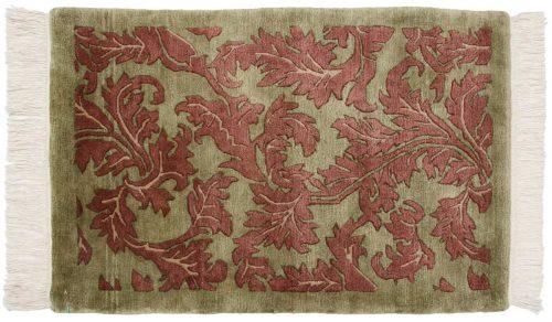 2×3 Leaf Green Oriental Rug 038106