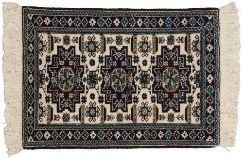 2×3 Persian Ardebil Ivory Oriental Rug 035539
