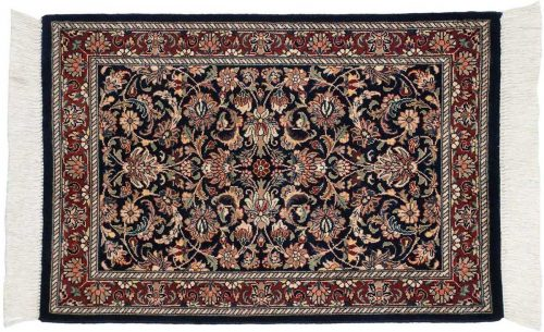 2×3 Persian Blue Oriental Rug 025933