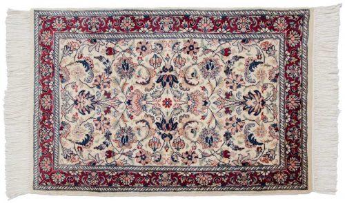 2×3 Kashan Ivory Oriental Rug 025981