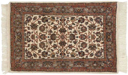 2×3 Persian Ivory Oriental Rug 037730