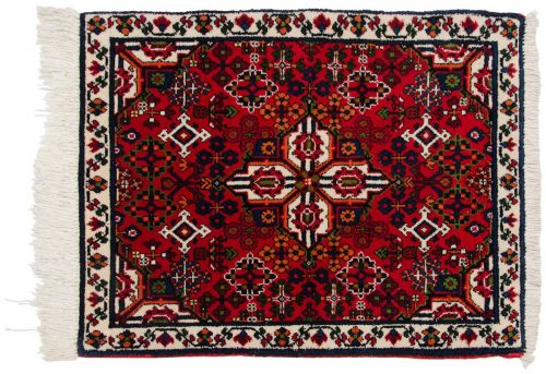 2×3 Persian Joshegan Red Oriental Rug 013686