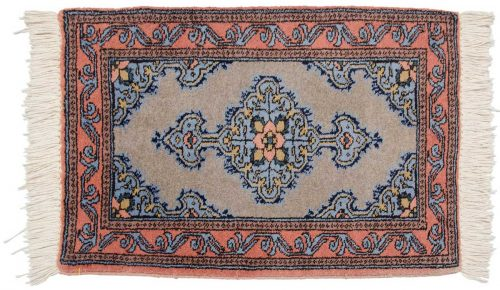 2×3 Persian Katbaft Grey Oriental Rug 035275