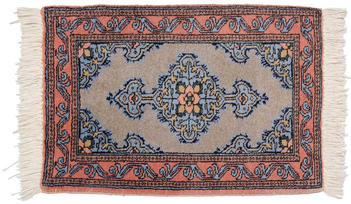 2 3 Persian Katbaft Grey Oriental Rug 035275 Carpets By