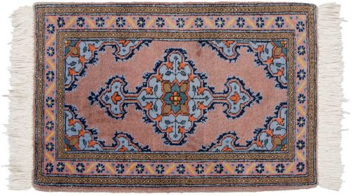 2×3 Persian Katbaft Rust Oriental Rug 035273
