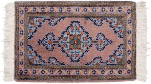 2×3 Persian Katbaft Rust Oriental Rug 035273