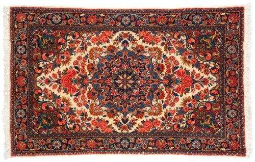 2×3 Persian Malayer Beige Oriental Rug 014242