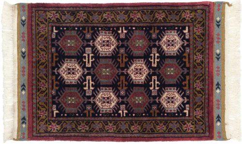 2×3 Saddlebag Blue Oriental Rug 036863