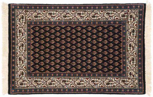 2×3 Sarouk Black Oriental Rug 043995