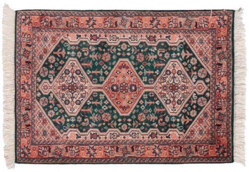 2×3 Sarouk Green Oriental Rug 024196