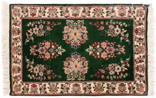 2×3 Sarouk Green Oriental Rug 024198