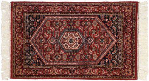 2×3 Sarouk Red Oriental Rug 023679