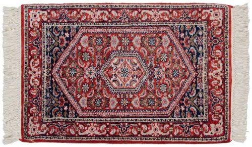 2×3 Sarouk Red Oriental Rug 023743