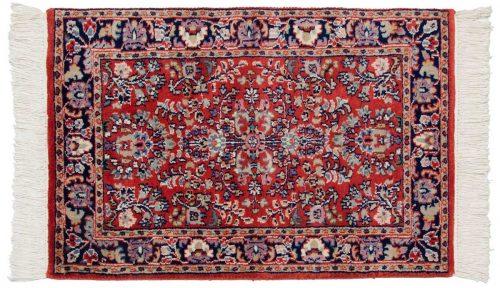 2×3 Sarouk Red Oriental Rug 023749