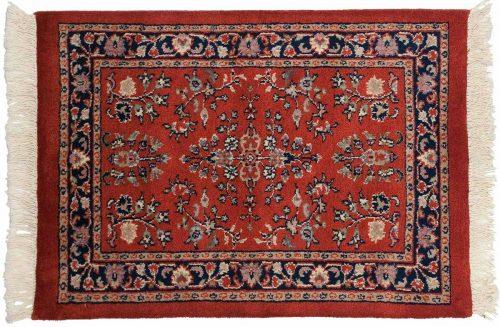 2×3 Sarouk Red Oriental Rug 023794