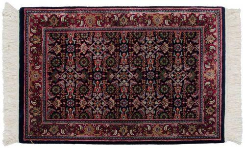 2×3 Tabriz Blue Oriental Rug 038786