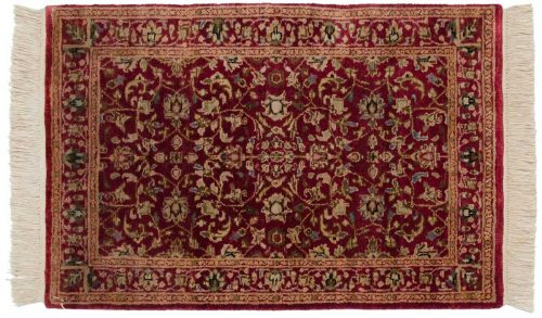 2×3 Tabriz Red Oriental Rug 038856