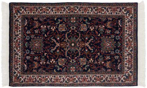 2×4 Bijar Blue Oriental Rug 036921