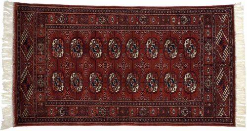 2×4 Bokhara Burgundy Oriental Rug 021784