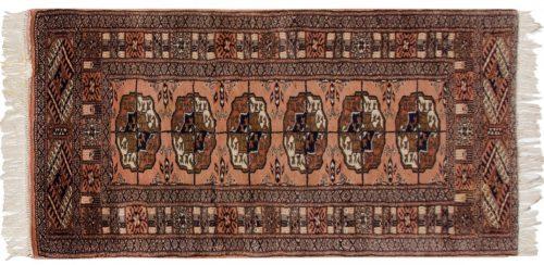 2×4 Bokhara Rose Oriental Rug 021653