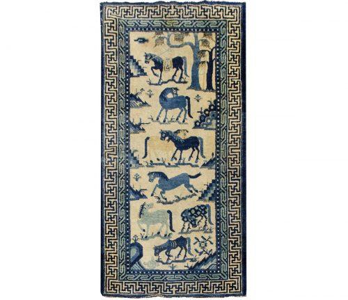 2×4 Chinese Ivory Oriental Rug 035699