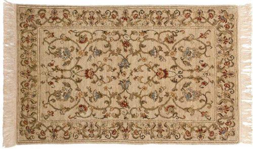 2×4 European Ivory Oriental Rug 020968
