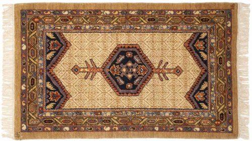 2×4 Hamadan Ivory Oriental Rug 020903