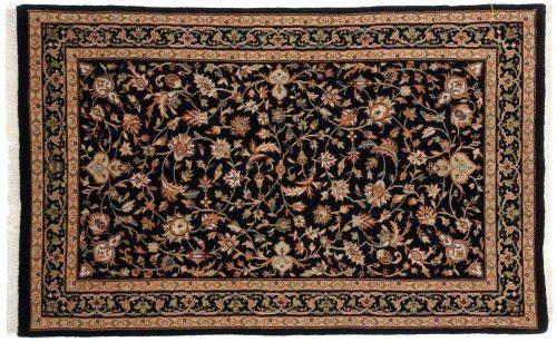 2×4 Isfahan Black Oriental Rug 042850