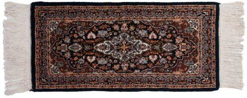 2×4 Kashan Blue Oriental Rug 025297