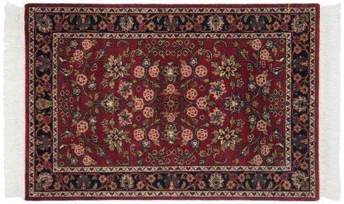 2×4 Kashan Burgundy Oriental Rug 046869